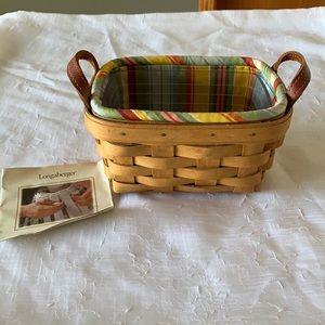 Longaberger Tea Basket